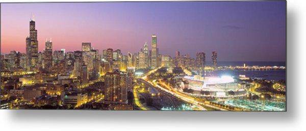 Chicago, Illinois, Usa Metal Print