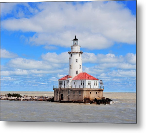 Chicago Light House Metal Print