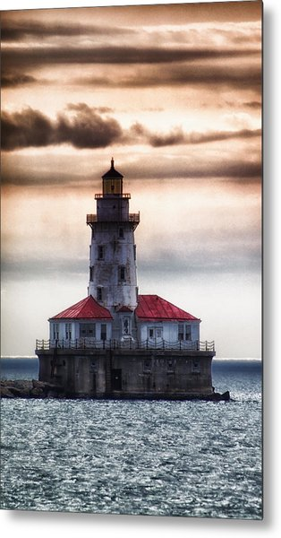 Chicago Lighthouse 3 Metal Print by Christopher Muto