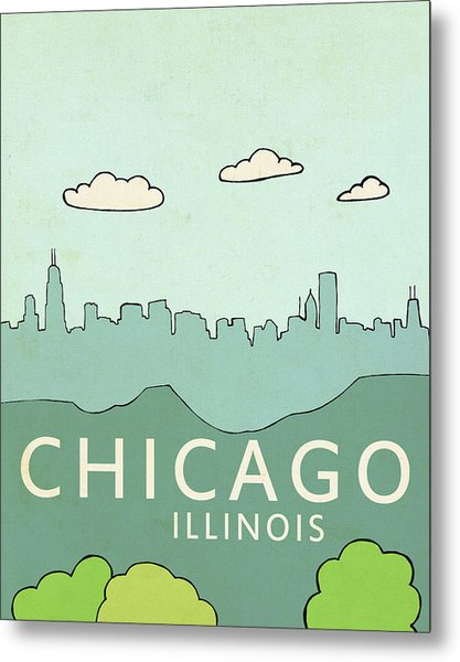 Chicago Metal Print
