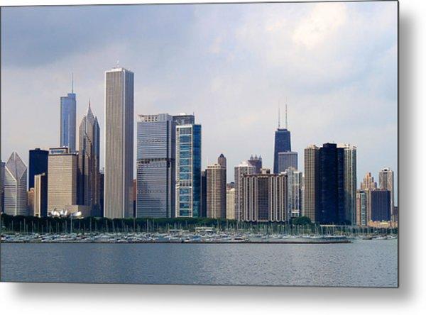Chicago Panorama Metal Print