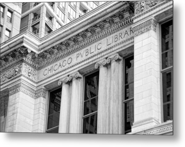 Chicago Public Library Metal Print