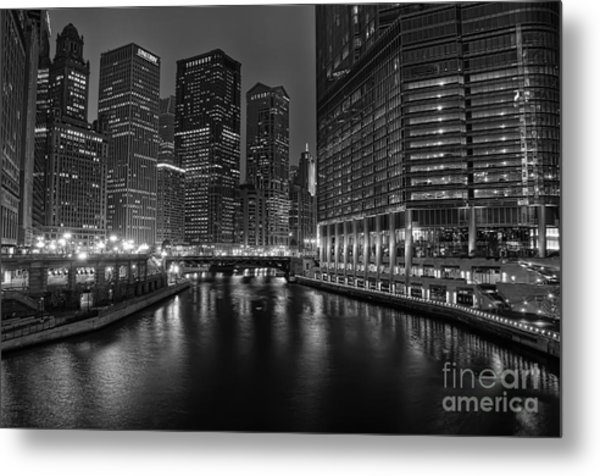 Chicago Riverwalk Metal Print