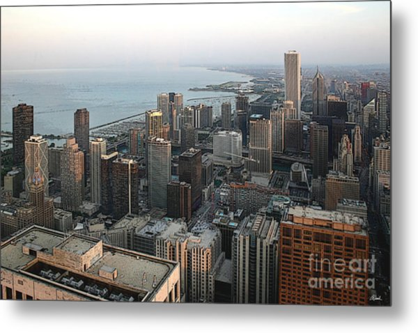 Chicago Shore Metal Print by Bill Quick