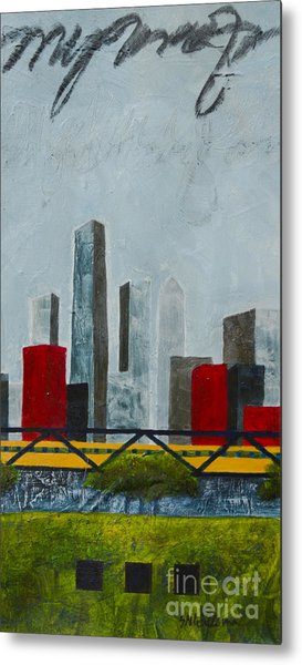 Chicago Skyline II Metal Print
