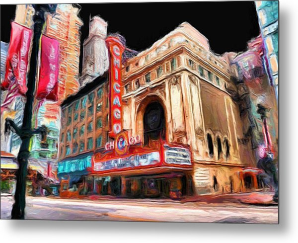 Chicago Theater - 23 Metal Print
