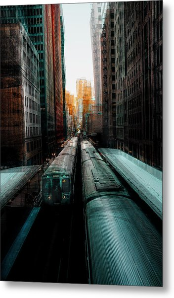 Chicago's Station Metal Print