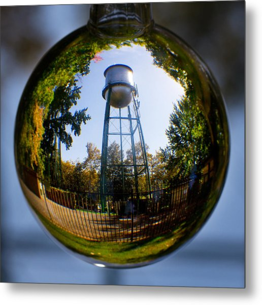 Chico Water Tower Metal Print