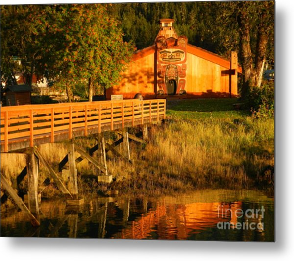 Chief Shakes House Metal Print