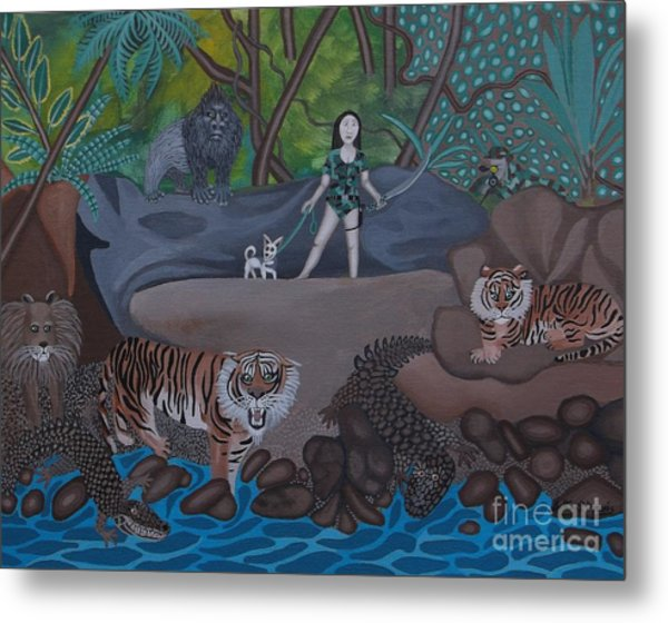 Chihuahua Safari Metal Print by Anthony Morris