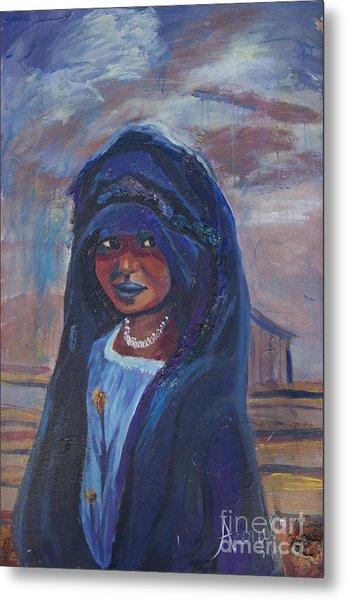 Child Bride Of The Sahara Metal Print