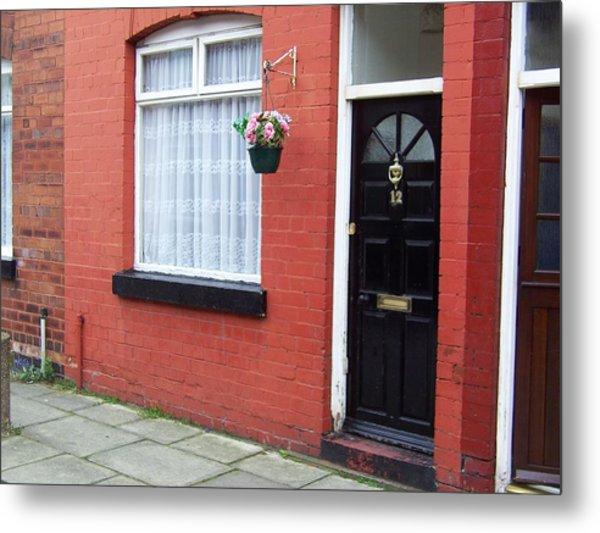 Childhood Home Of George Harrison Liverpool Uk Metal Print