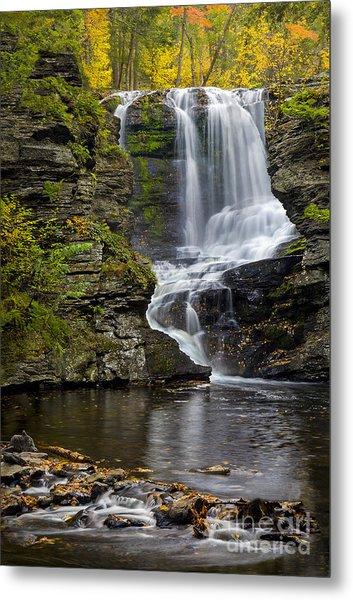 Childs Park Waterfall Metal Print