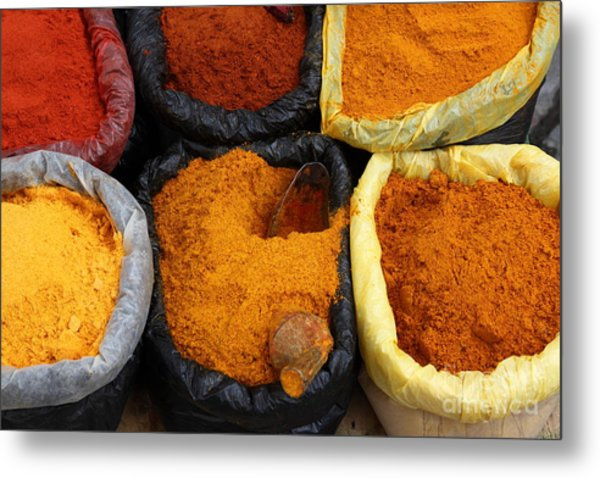 Chilli Powders 1 Metal Print