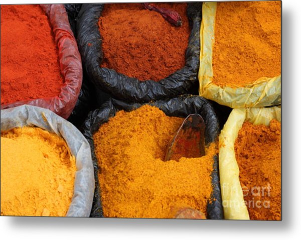 Chilli Powders 2 Metal Print