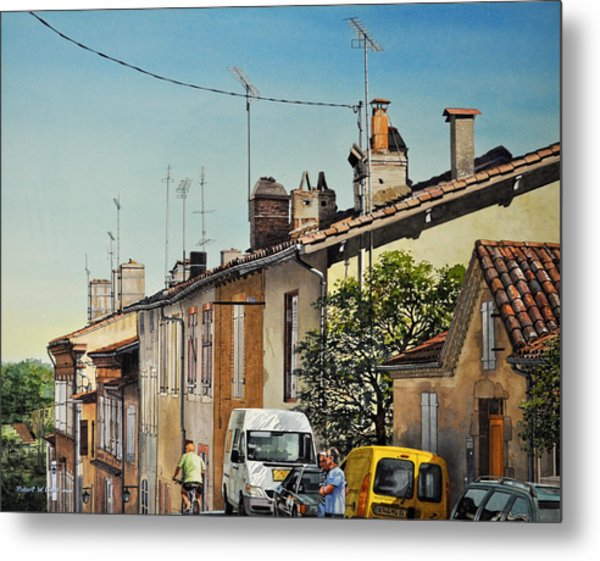 Chimneys Of Auch Metal Print