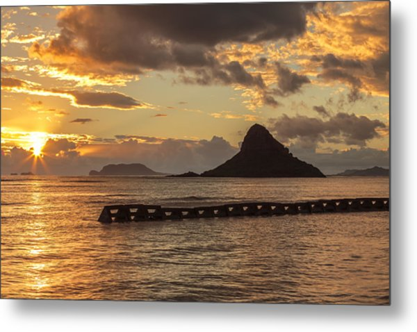 Chinaman's Hat 5 Metal Print