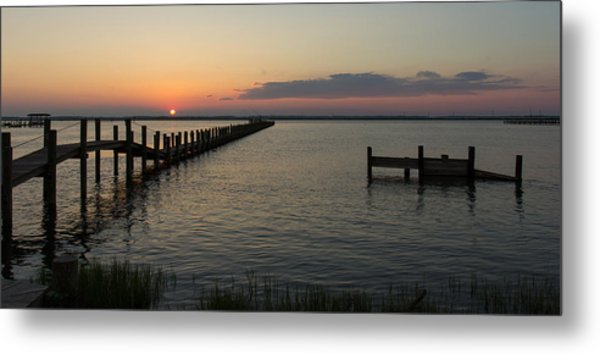 Chincoteague Island Sunset Metal Print
