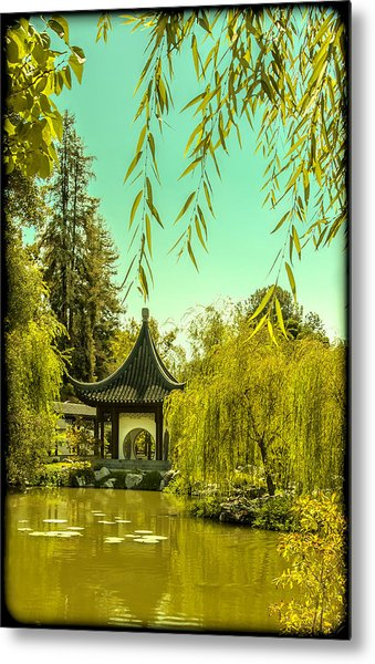 Chinese Pavillion Metal Print