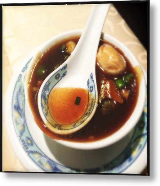 Chinese Soup Metal Print