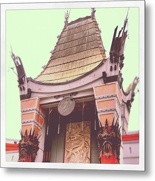 Chinese Theater Metal Print