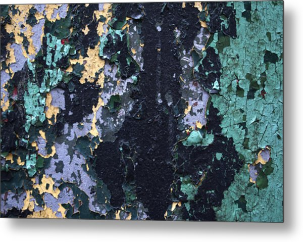 Chipped Paint Metal Print by Gretchen Lally