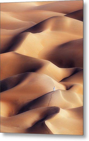 Chocolate Dunes Metal Print
