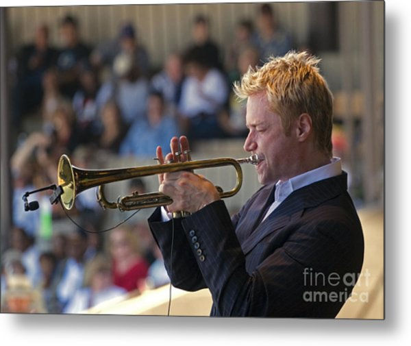 Chris Botti Metal Print