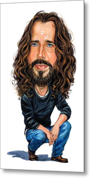 Chris Cornell Metal Print by Art