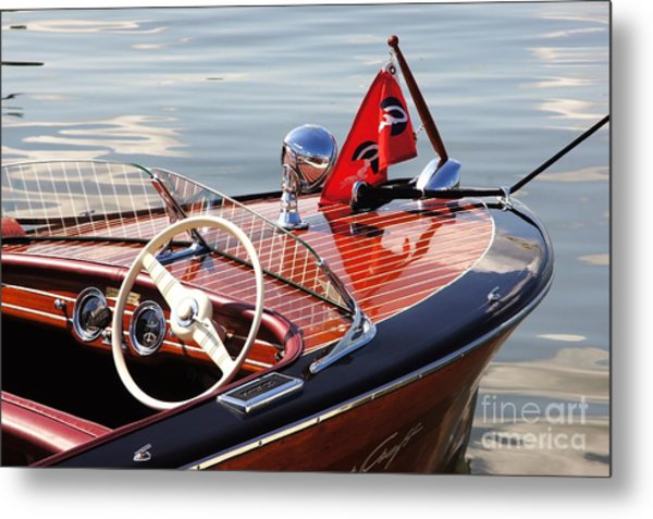 Chris Craft Deluxe Runabout Metal Print