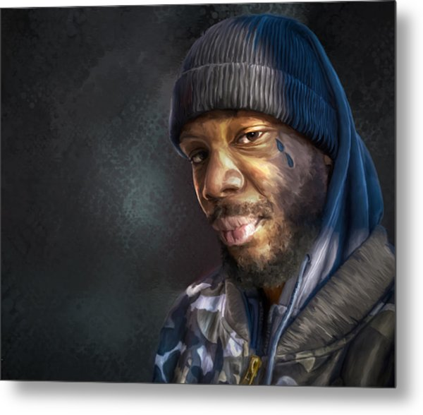 Chris Metal Print