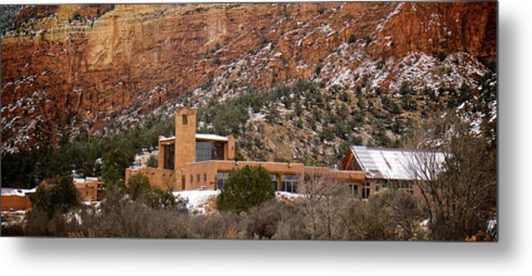 Metal Print featuring the photograph Christ In The Desert Monastery by Mary Lee Dereske