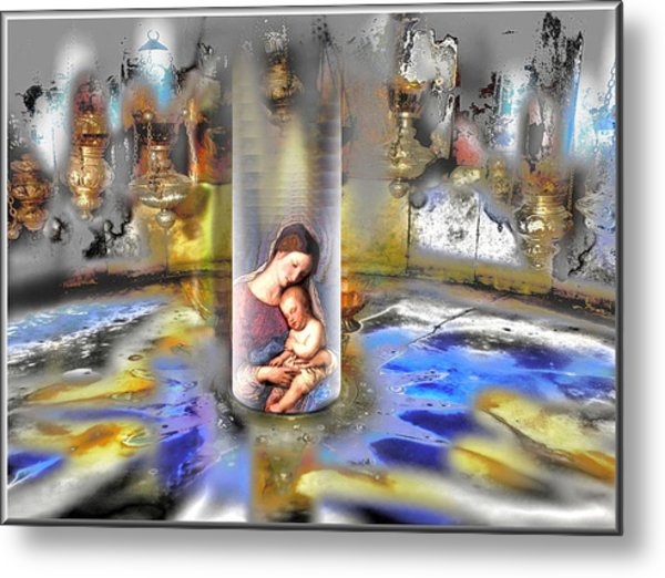 Christ Is Born 2009 Metal Print