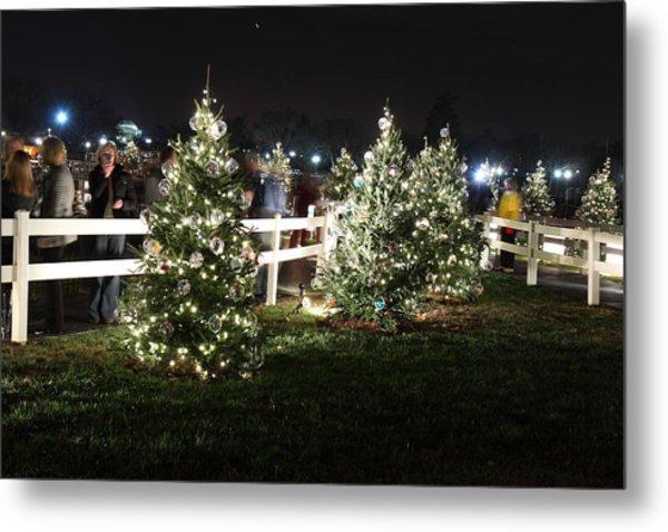 Christmas At The Ellipse - Washington Dc - 01133 Metal Print by DC Photographer