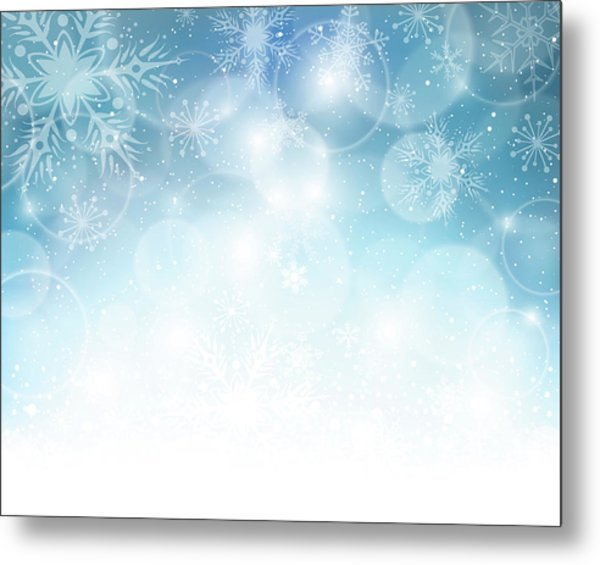 Christmas Background Metal Print by Adyna
