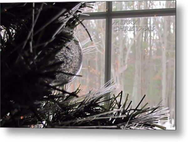 Christmas Bulb Metal Print