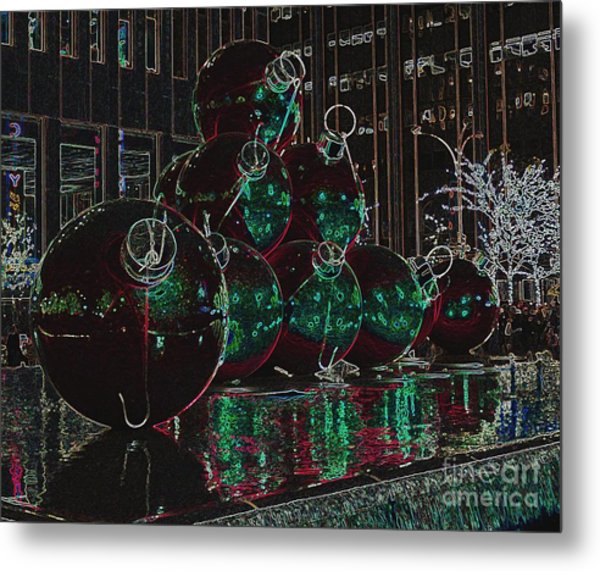 Christmas Card Metal Print