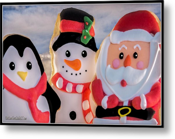 Christmas Cookies  Metal Print