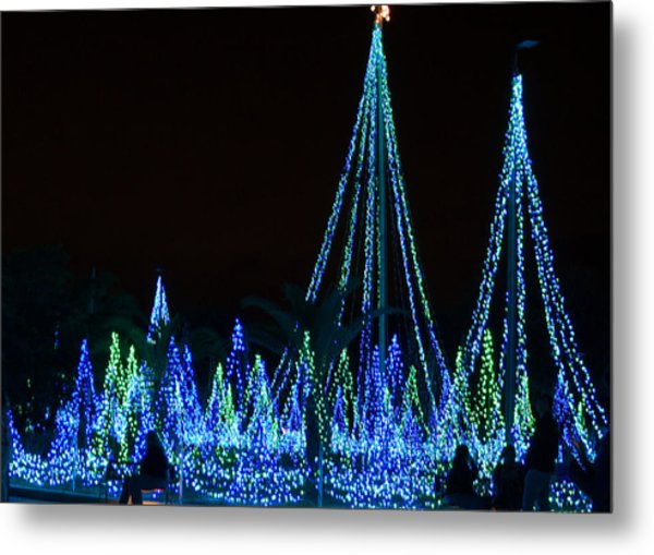 Christmas Lights 1 Metal Print