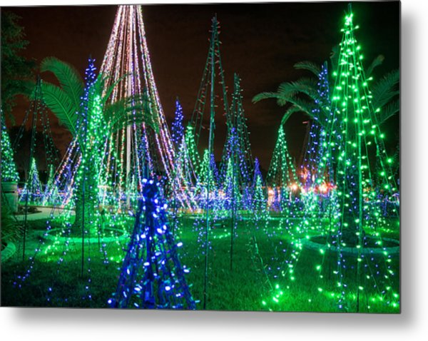 Christmas Lights 2 Metal Print