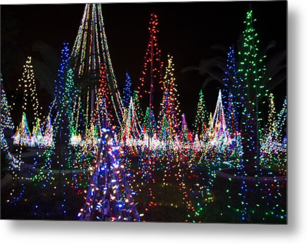 Christmas Lights 3 Metal Print