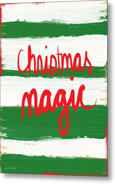 Christmas Magic - Greeting Card Metal Print