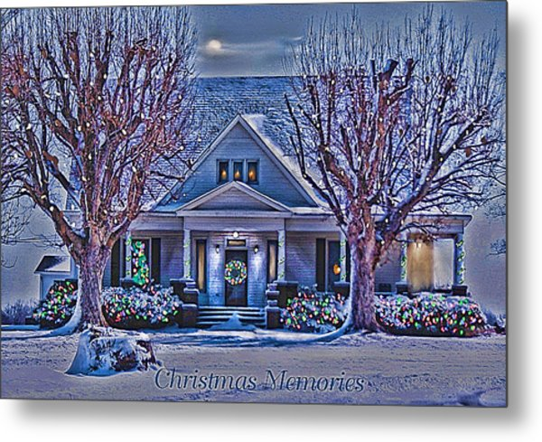 Christmas Memories Metal Print