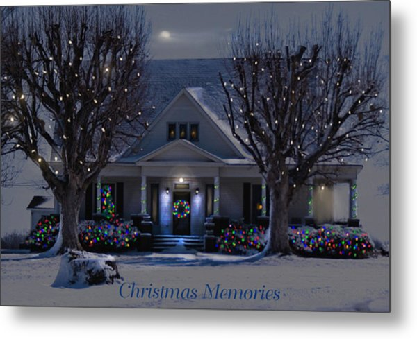 Christmas Memories2 Metal Print
