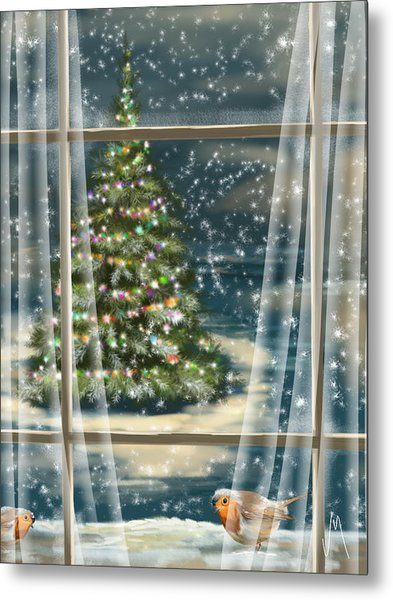Christmas Night Metal Print
