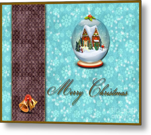 Christmas Card 13 Metal Print