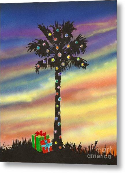 San Clemente Christmas Metal Print