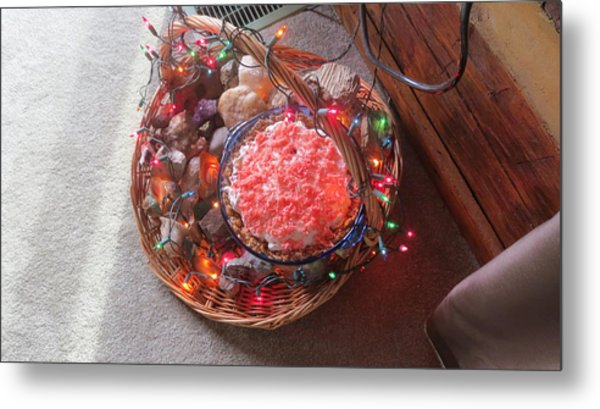Christmas Pie Metal Print by Diane Mitchell