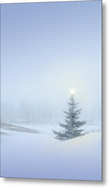 Christmas Spirit Metal Print