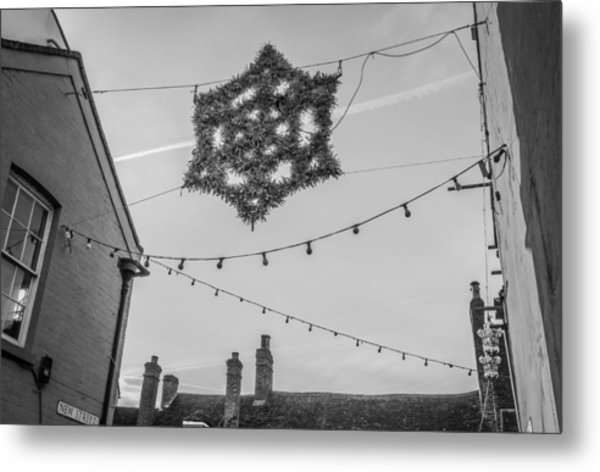 Christmas Star Metal Print